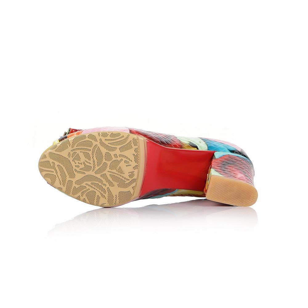 Plus Sur Coloré Mx01 Femme La Ouvert Colourful Femmes Véritable En D'été Glissent Pompes Taille Chaussures Carré Bout Talons Muyisexi Cuir Hauts De CCOq0wa