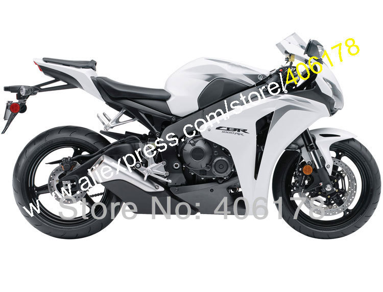 Hot Sales,For HONDA 08 09 10 11 CBR1000RR Customized 2008 2009 2010 2011 CBR 1000RR White black Fairing Kit (Injection molding) arashi motorcycle radiator grille protective cover grill guard protector for 2008 2009 2010 2011 honda cbr1000rr cbr 1000 rr