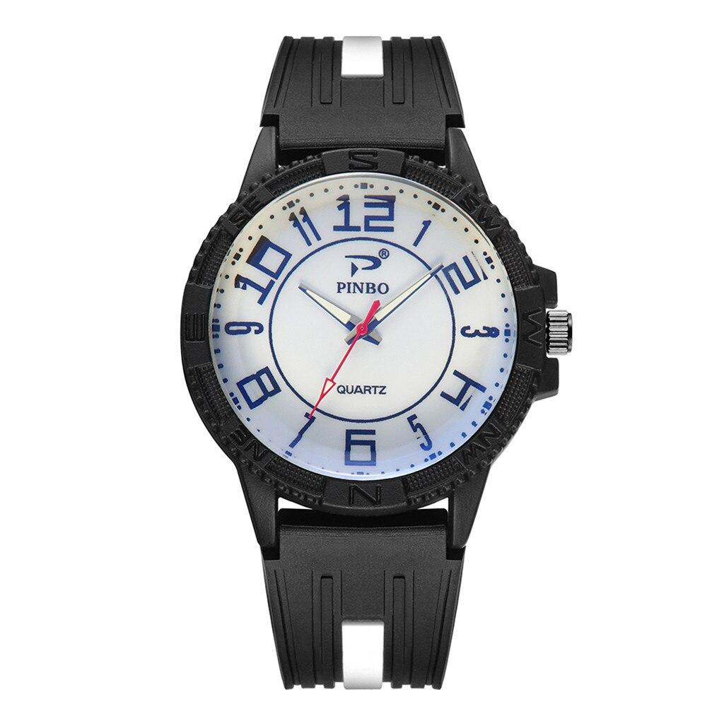 Men Watches Fashion Luxury Top Brand Sport Watch Silicone Rubber Strap Men Military Watch Quartz Wristwatches Relogio Masculino
