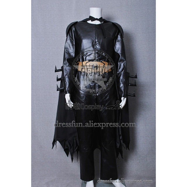 Batman Cosplay Bruce Wayne Costume Black Leather Cloak With Helmet Mask  Party Outfits Full Set Halloween