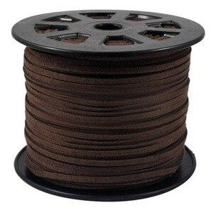 Image 4 - 100 quintal/rolo 4mm/5mm coreano couro falso camurça laço corda corda fio diy pulseira colar descobertas diy miçangas