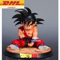 Dragon Ball статуя Супер Saiyan Сон Гоку бюст GK Kakarotto Готен и Гохан отец полный Длина портрет смола фигурку игрушки