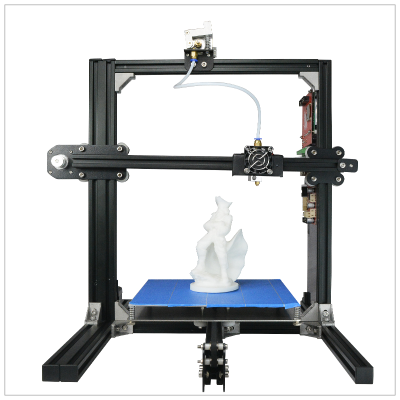 DIY 3D Printer ET I3 Top Version Dual Extruder Prusa Two Color Printing High Resolution 3D