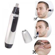 Электрический триммер для бритья носа и ушей, безопасный уход за лицом, триммер для волос в носу для мужчин, бритва для удаления волос, бритва, машинка для бороды
