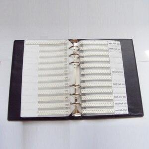 Image 4 - 0805 سمد عينة كتاب 63 القيم 3025 قطعة 5% المقاوم عدة و 17 القيم 700 قطعة مكثف مجموعة