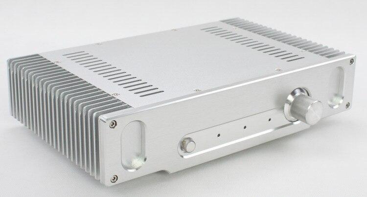 WA55เงินเต็มสิ่งที่ส่งมาอลูมิเนียม/มินิกรณีที่แอมป์/พลังงานกล่องเครื่องขยายเสียง/แอมป์/ด้วยอลูมิเนียมเครื่องฟุต-ใน เครื่องขยายเสียง จาก อุปกรณ์อิเล็กทรอนิกส์ บน AliExpress - 11.11_สิบเอ็ด สิบเอ็ดวันคนโสด 1