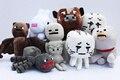 Envío Gratis Nueva Arriveal Minecraft plush toy 8 unids/lote Brinquedos Juguetes Juego Venta Barata de Alta Calidad de Juguetes de Peluche Juego de Juguetes