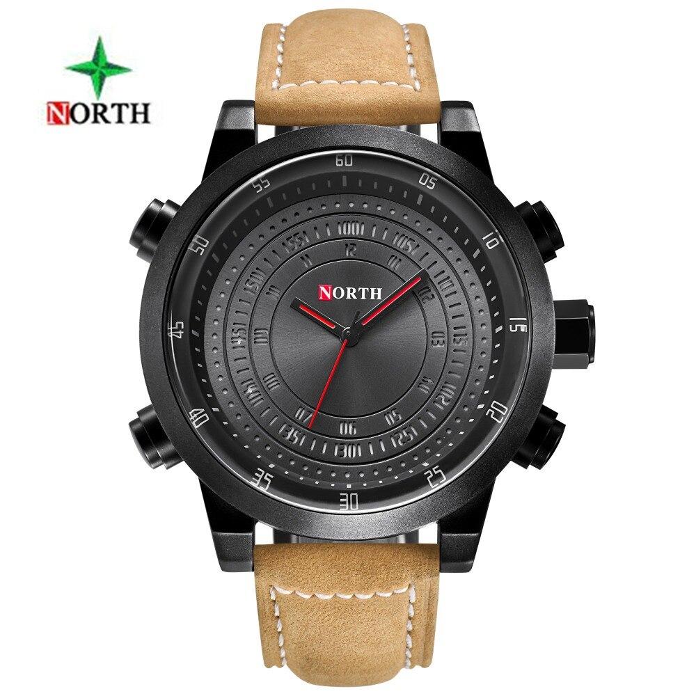 NOORD Digitale Quartz Horloges Heren Luxe Merk Militaire Sport - Herenhorloges - Foto 3