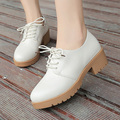 AD AcolorDay 2017 Popular Sweet Oxford Shoes for Women Ladies Flat Shoes New Arrival Casual Elegant Round Toe White Women Shoes