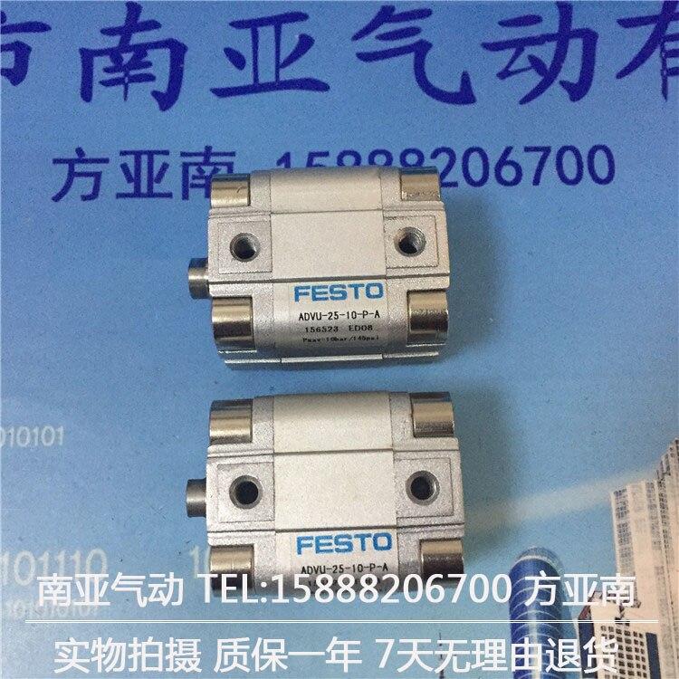ADVU-25-5-P-A ADVU-25-10-P-A  ADVU-25-15-P-A FESTO Compact cylinders  pneumatic cylinder  ADVU series