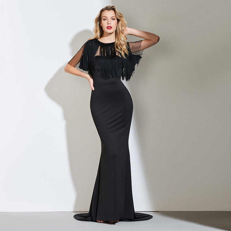 494845f398114 Detail Feedback Questions about Tanpell split front evening dress ...