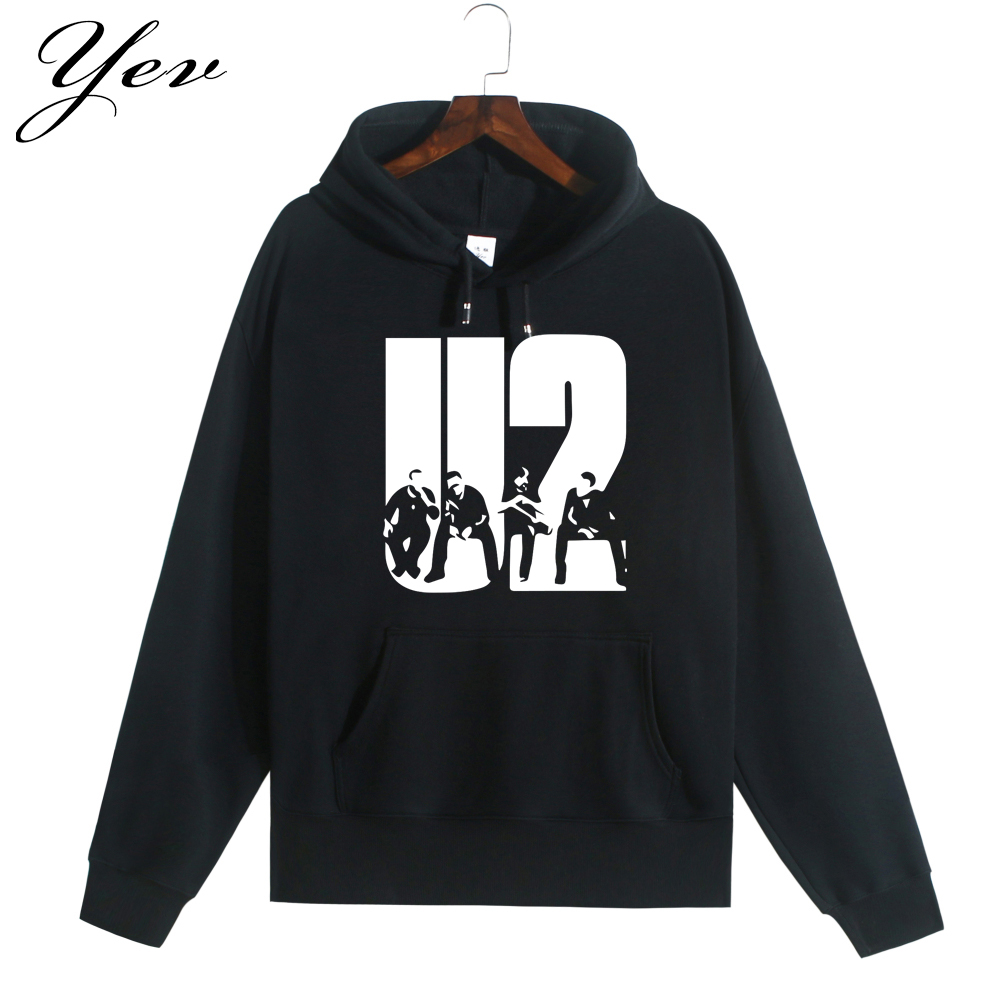 2017 new u2 rock hoodie mens fleece cotton sweatshirt. Black Bedroom Furniture Sets. Home Design Ideas