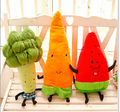 Vegetables are carrots Broccoli watermelon plush toy doll valentine's birthday present household decoration Free shipping
