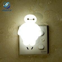 Energy-saving night light Big white Cartoon nightlight Bedside lamp bedroom lamp interior decoration lamp sleep light