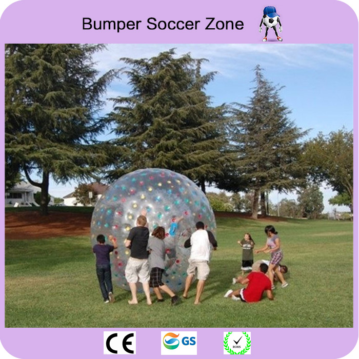 Free Shipping Rolling Ball 2.5M 0.8mm Inflatable Grass Ball Human Hamster Ball Inflatable Body Zorb Ball free shipping 1 0mm pvc hot sale latest attractive durable inflatable body zorb ball 3m rolling grass ball for sale