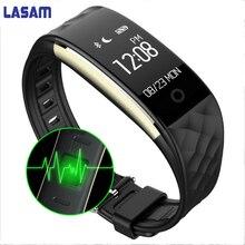 Оригинальный S2 Bluetooth Smart Band Браслет Heart Rate Мониторы IP67 Водонепроницаемый SmartBand браслет для Android IOS Телефон супер