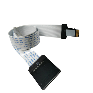 Image 2 - 10cm 25cm 48cm 62cm TF Micro SD Card to SD Card Flex Extension cable Extender Adapter Converter
