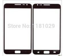 Black White Color Front Lens Glass For Samsung Galaxy Note1 N7000 Free Shipping Brand New Whole Sale With Logo