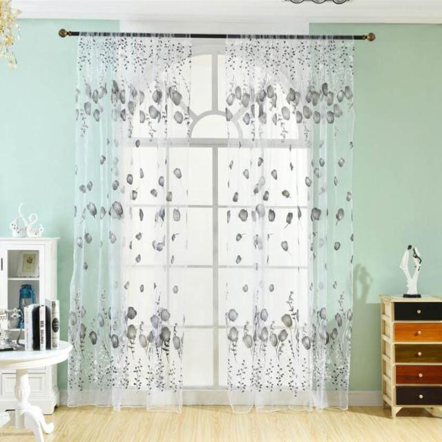 100200CM Clear Plastic String Curtain Panels Fly Screen amp Room