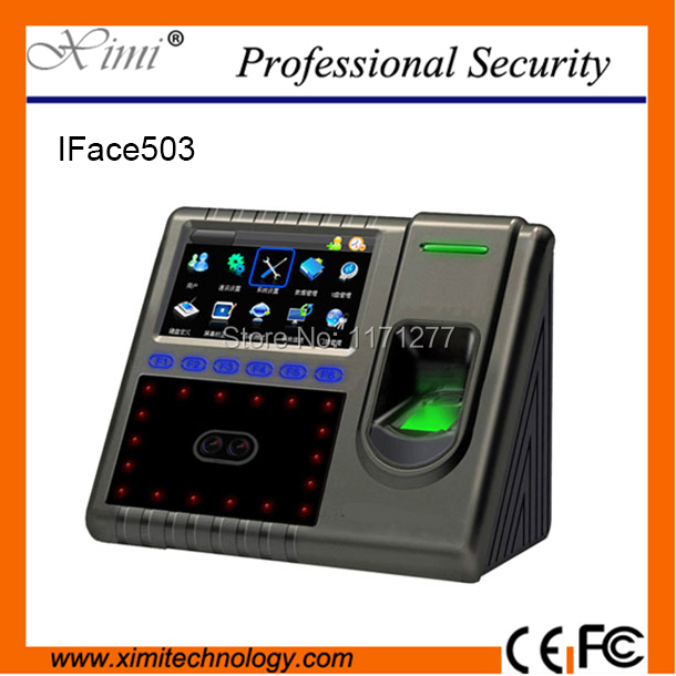 Iface503 RFID facial and fingerprint recognition time attendance device with camera GPRS 4.3 screen TCP/IP door access control