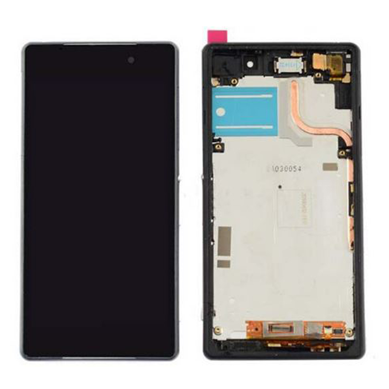 AAA Quality For Sony Xperia Z2 L50W D6502 D6503 LCD Display with Touch Screen Digitizer Assembly with frame Free shipping