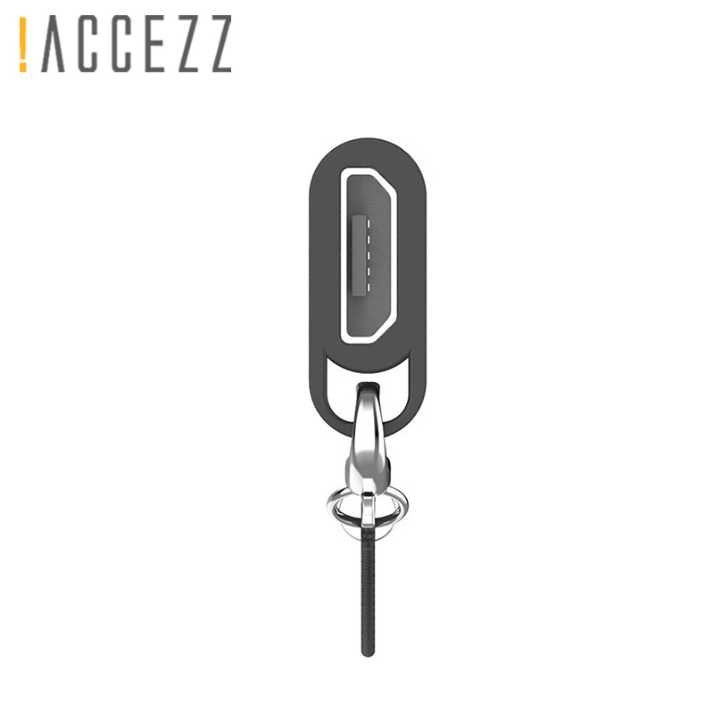 ! ACCEZZ 2 шт. адаптер для мобильного телефона Samsung S9 S8 Huawei P20 P10 Xiaomi OTG Micro USB к TypeC разъему для разъема для ключей