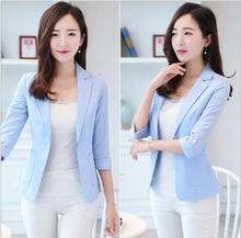THYY 2018 Solid Full Spring Autumn Coat Blazer Women Suit Ladies Refresh Blazers Comfortable Women's Blazers Free Shipping A790