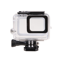 ABS Waterproof Case 60M Underwater Protection For GoPro 5 Press Proof With Touch Screen Back Cover