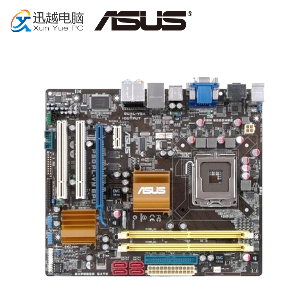 все цены на Asus P5QPL-VM EPU Desktop Motherboard G41 Socket LGA 775 DDR2 8G SATA2 USB2.0 uATX онлайн