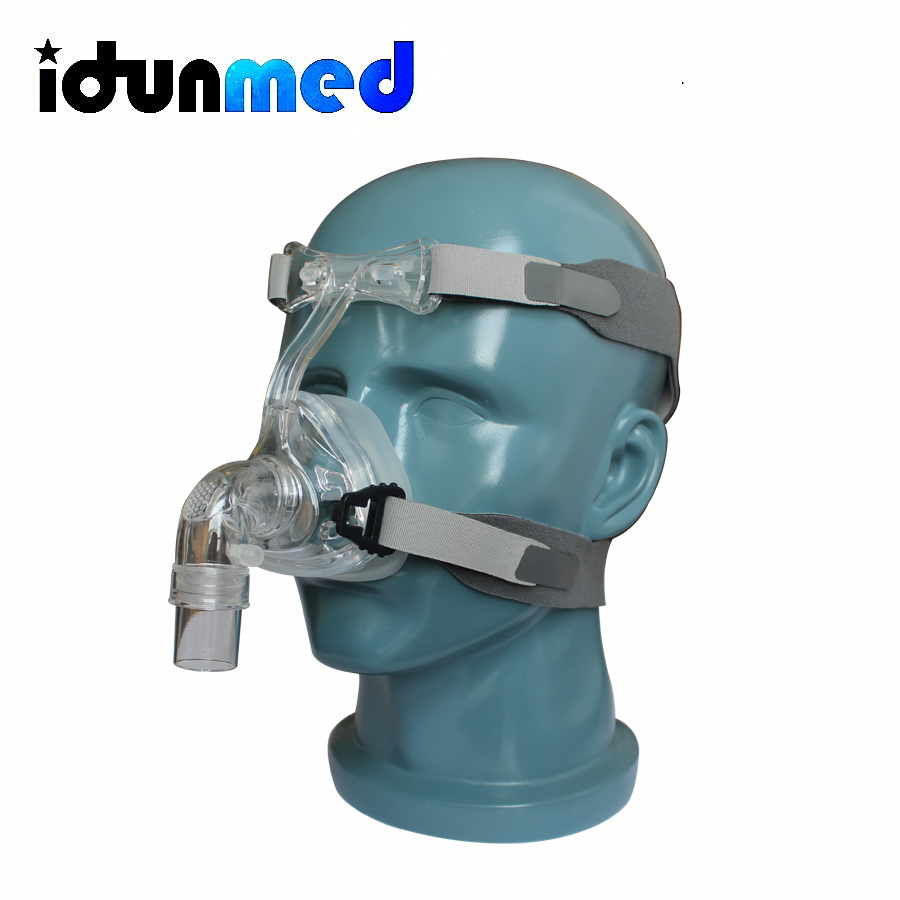 Adjustable Head Gear : Bmc cpap nasal nm mask with adjustable flexible headgear