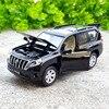 Diecasts & Toy Veículos de alta Simulação Requintado: estilo Do Carro TOYOTA Land Cruiser Prado SUV ShengHui 1:32 Alloy Diecast Modelo de Carro
