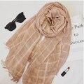 2016 pashmina de la manera bufanda nuevo diseño floral del mantón de la gasa de seda Del Cabo Tippet silenciador Bufandas calientes de la venta envío libre