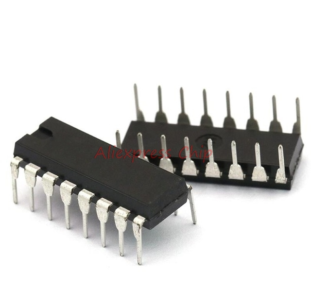 1pcs/lot <font><b>CD4026</b></font> CD4026BE 4026 IC CMOS Counters Decade/Divider DIP-16 In Stock image