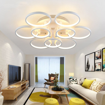 led ceiling light atmosphere living room lamp simple modern round bedroom aisle lighting lamps
