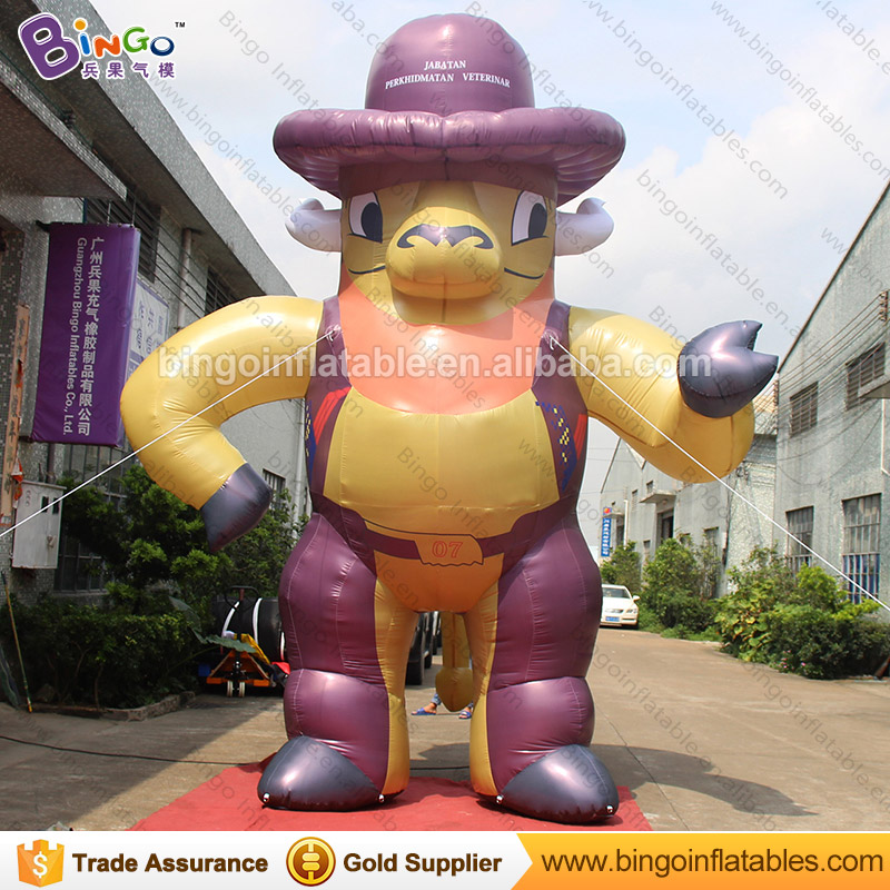 FREE SHIPPING 5M inflatable cowboy decoration blow up cowboy cartoon balloon toy custom made for advertising showFREE SHIPPING 5M inflatable cowboy decoration blow up cowboy cartoon balloon toy custom made for advertising show