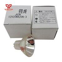 5 PACK Japan KLS Halogen Lamp Bulbs 2 pin Base Narrow Flood Mini Reflector Halogen Light Bulb JCR 12V20WA20H/3