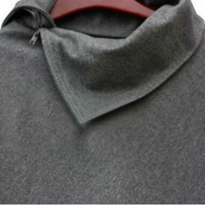 LERFEY Jesen Wimnter Žene Oversized Cape šal Batwing nepravilne - Ženska odjeća - Foto 4