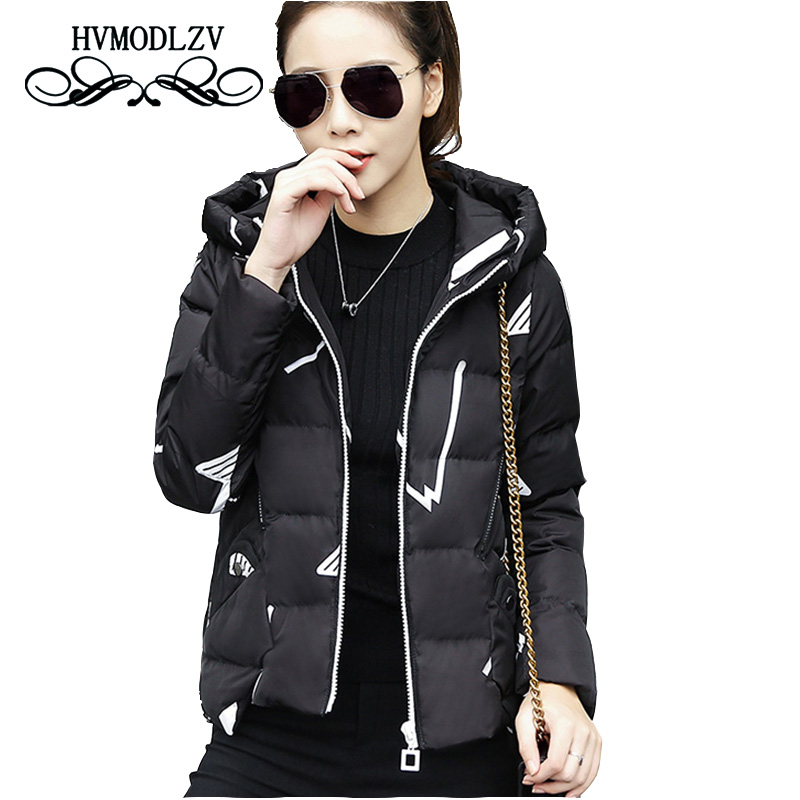 Winter Women Cotton Jacket 2017 New Bomber Cotton Jacket Women Coat Large size Irregular Fashion Casaco