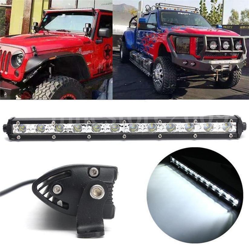 Car-styling KAKUDER 13Inch 36W White LED Spot Light Bar Driving Offroad Work Lamp SUV ATV td0430 dropship