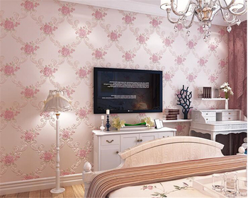 beibehang tapety elegant and fresh pastoral flower wall paper modern fashion bedroom living room backdrop nonwoven 3d wallpaper beibehang European pastoral stereo pressing large flower nonwoven papel de parede 3d wallpaper living room bedroom background