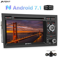 Pumpkin 2 Din 7 Inch Android 7 1 Car Radio DVD Player For Audio A4 GPS