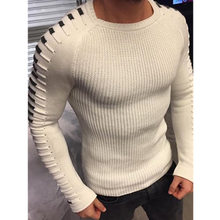 M-3XL Solid Color Slim Turtleneck Sweater Fashion Men's Long Sleeve Knit Joker Sweater(China)