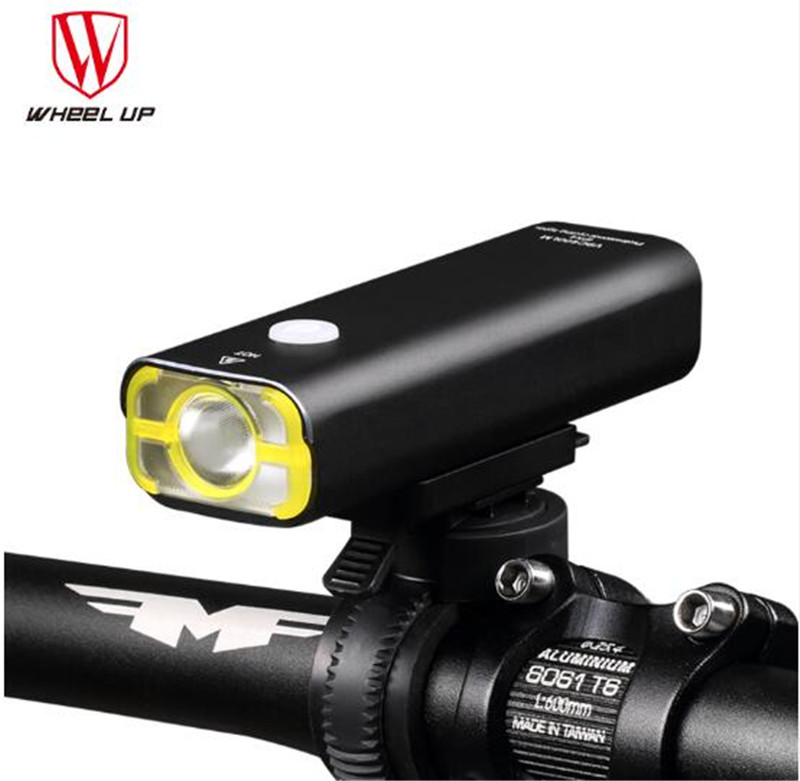 WHEEL UP Waterproof USB Bicycle Light Rechargeable MTB Bike Light Front Handlebar Led Lamp Night Cycling Torch Accessories wheel up bike head front light usb rechargeable mountain road bicycle lights waterproof headlamp night cycling accessories k3006