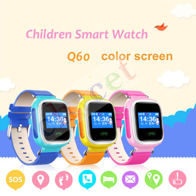 Q60 Kid GPS Smart Watch Wristwatch SOS Call Location Finder Locator Device Tracker for Kid Safe Anti Lost Monitor Baby Gifts Q50