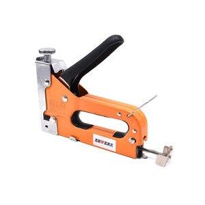 Image 4 - Agrafeuse à ongles manuelle 3 en 1, pistolet avec 600 pièces, pour meuble, tapisserie, outil manuel ménager
