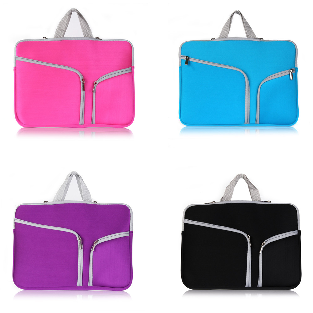 Portable Anti-shock Laptop Bag for MacBook Air Pro Retina 11 13 15 inch with Zip Design image