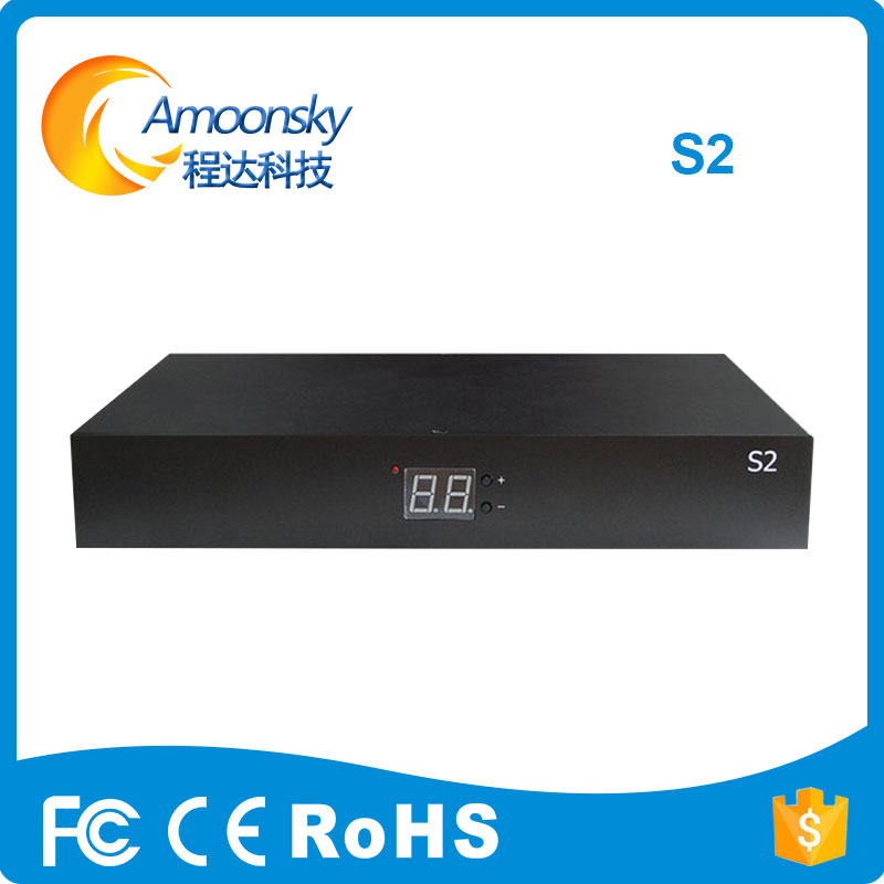 Colorlight S2 Video Sender Box Support Advertising Led Screen Display Support Audio In 1920*1200 Pixels