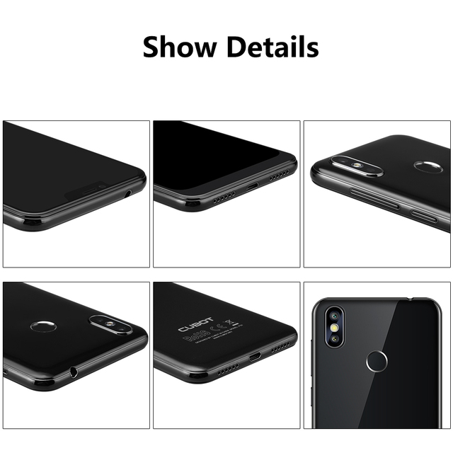 Cubot P20 19:9 6.18′ 2246*1080 FHD+ Notch Screen Android 8.0 4GB RAM 64GB ROM MT6750T Octa-Core Telephone 4000mAh Up to 20.0MP