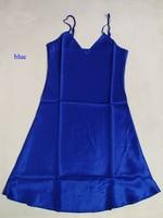 Pure silk female nightgown,100% natural silk lingerie,100% silk spaghetti strap summer dress,silk sleepwear