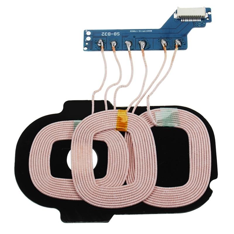 Universal DIY 9 V 1-2A Type C Port Sans Fil Charge PCBA trois Bobine Charge Circuit De Charge Récepteur Adaptateur Pour Samsung S8